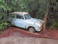 ハリーポッターが事故した車