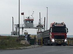 Thyboroen-Agger Ferry