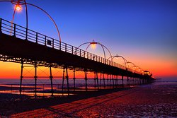 Southport Pier and pavilion cafe