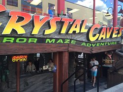 The Crystal Caves - A Mirror Maze Adventure