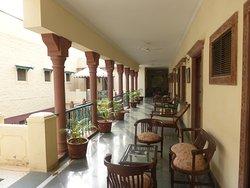 First floor view at Ratan Vilas Jodhpur