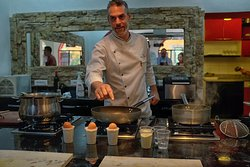 Chef Federico Instructing