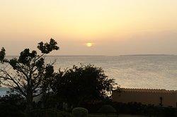 Sunset from our verandah