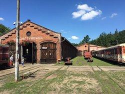 The Historic Narrow-Gauge Railway Station