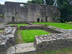 Amazing picturesque ruins