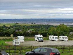 Campsite from pub car park