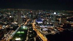 Schönste Aussicht über Singapur