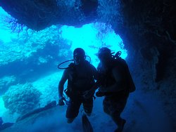 great dive with beautiful site