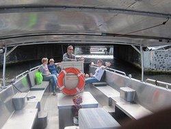 Wij hadden de boot gehuurd voor 6 pers