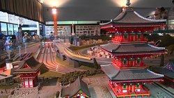 Diorama Kyoto Japan