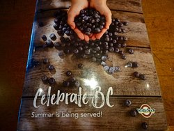 Cover of the Restaurant's Special Summer-Themed BC Menu