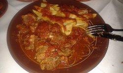 stufato di capra con pomodori e patate (stued goat with tomatoes and potatoes)
