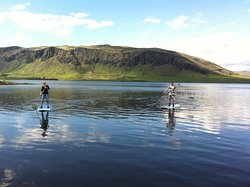 Stand Up Paddle in Iceland