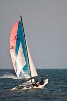 nada como a prender a navegar en vela ligera ,y el catamaran es perfecto!