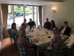 Ruby Wedding Sunday Lunch