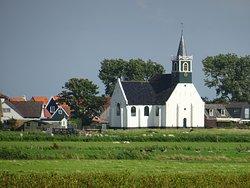 De Zeemanskerk van Oudeschild Texel uit 1650