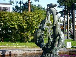 Fountain Dolphins
