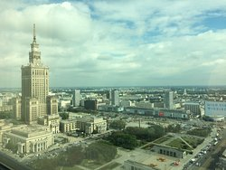 Great hotel in the city of Warsaw