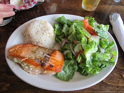 Fresh King Salmon Meal