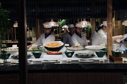 海鮮冷菜餐檯