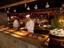 生魚片餐檯