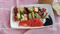 Θρεπτικότατο κ χορταστικότατο σουβλάκι λαχανικών!!