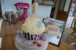 Amazing Birthday cake from The Kupcake Kitchen
