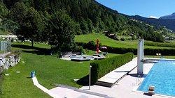 Panorama Schwimmbad Fließ