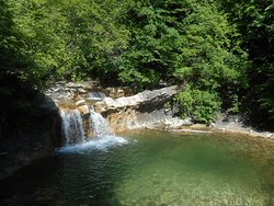 Waterfalls at River Zhane