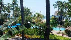 自然が豊かなリゾートホテル