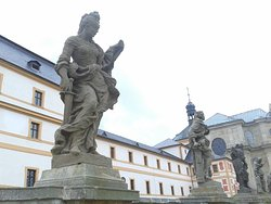 Braun Statues of Virtues and Vices