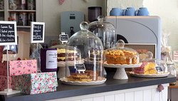 A mouth-watering array of cakes
