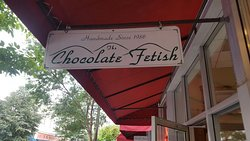 My favorite chocolate shop in Asheville