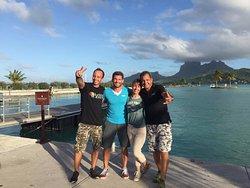 Skydive Bora Bora