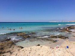 Spiaggia Baia Verde di Gallipoli