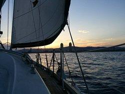 Sailing Barcelona