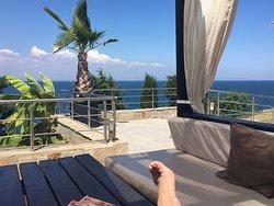 Relaxing luch