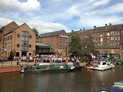 Nottingham Castle Wharf Canalside