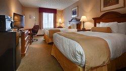 Motel 6 Hillsville - Double Queen Room