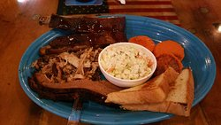 Barbecue Sampler Plate