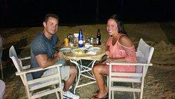 Nice dinner on the beach