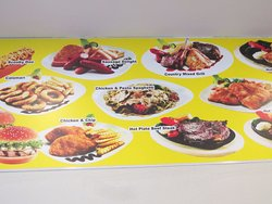 Menu on the wall (Part C)