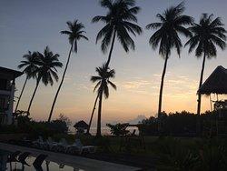 Amazing sunrise view