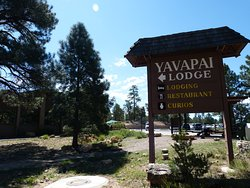 Entrance to Yavapai lodge