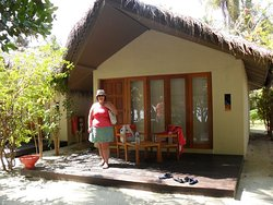 our hut, we loved it