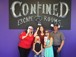 Confined Escape Rooms