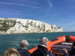 Dover Cliffs from the SeaSafari boat