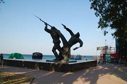 Monument to Kerch-Feodosia Landing