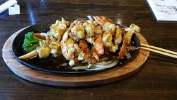 Lobster tail Teriyaki