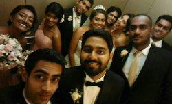 A wedding night at Hilton